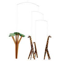Flensted Mobiles Giraffes on the Savannah Mobile