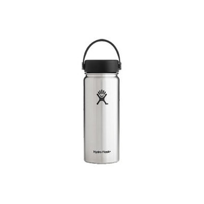 Hydro Flask 18oz Wide Mouth Vacuum Insulated Stainless Steel Water Bottle w/Flex Cap