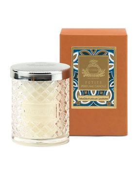 Agraria Mediterranean Jasmine Crystal Cane Candle, 3.4 oz.