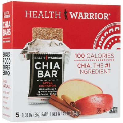 Health Warrior Chia Bar - Apple Cinnamon - 4.4 oz