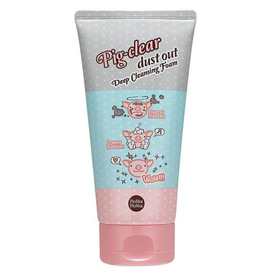 Holika Holika Pig Clear Dust Out Deep Cleansing Foam