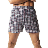 Hanes Men's Tartan Boxers with Comfort Flex Waistband (Pack of 2)