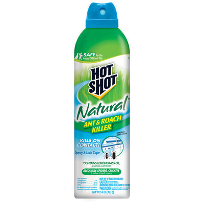 Hot Shot 14-oz Hot Shot Natural Ant & Roach Killer 0996280