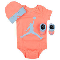 Nike Infant Jordan Jumpman 3-Piece Set, Orange