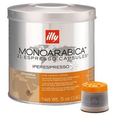 illy iper Monoarabica Single-Origin Espresso Capsules Ethiopia - (21 count)