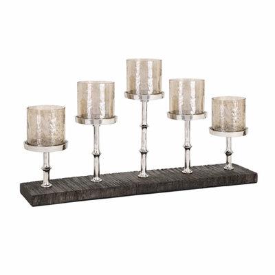 Imax Corporation Benzara Stellar 5-light Candleholder