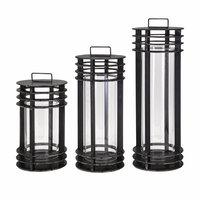 Imax Corporation Benzara Electra Metal Lanterns - Set Of 3