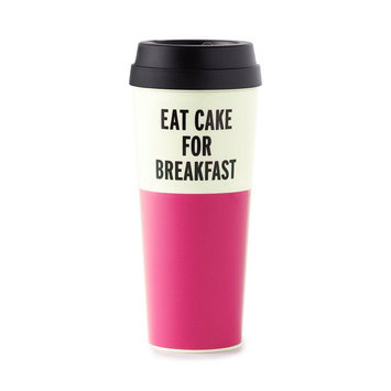 kate spade new york Thermal Mug, Eat Cake for Breakfast