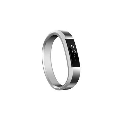 Fitbit 'Alta' Stainless Steel Fitness Tracker Accessory Bangle Band - Metallic