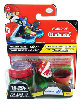 Jakks Pacific Nintendo Tape Racers Wave 2: Piranha Plant w/ Piranha Plant Pipe Way Tape