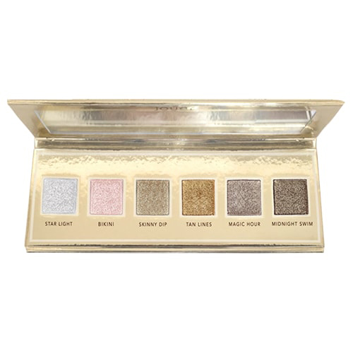 Jouer Cosmetics Skinny Dip Ultra Foil Shimmer Shadows Palette