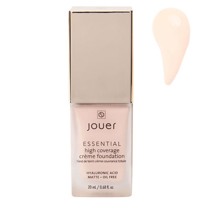 Jouer Cosmetics Essential High Coverage Creme Foundation - Alabaster