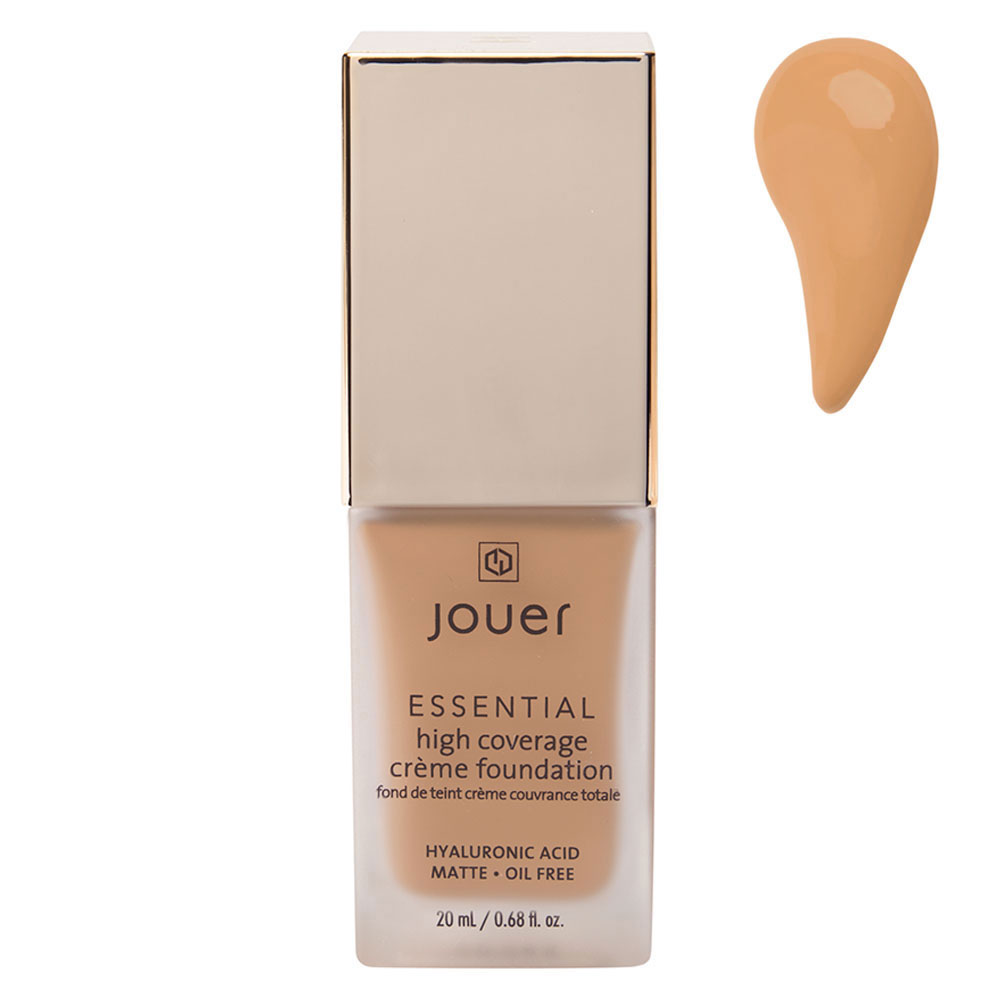 Jouer Cosmetics Essential High Coverage Creme Foundation - Nutmeg