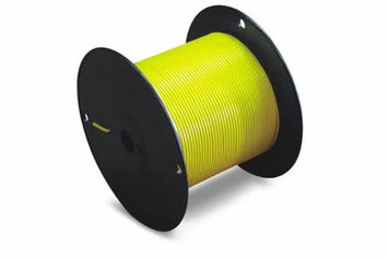 The Best Connection, Inc. JT & T Products 127C 12 AWG Yellow Primary Wire, 100' Spool