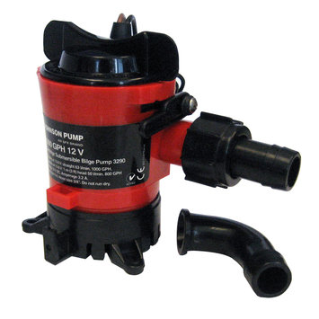 Johnson Pump 38952M JOHNSON PUMP 750 GPH BILGE PUMP 3/4