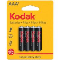 KODAK K3A-4 30861725 Xtralife(TM) Alkaline Batteries (AAA; 4 pk)