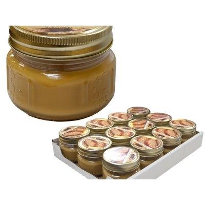 Kole Imports HG442-36 Banana Nut Bread Jar Candle Display 36 Piece
