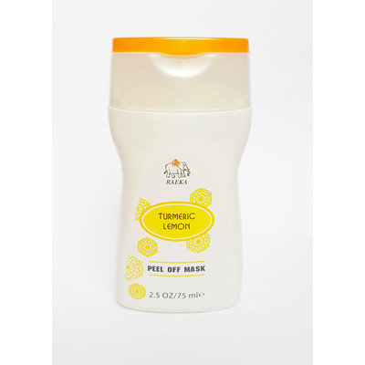 RAEKA Turmeric Lemon Peel-Off Face Mask