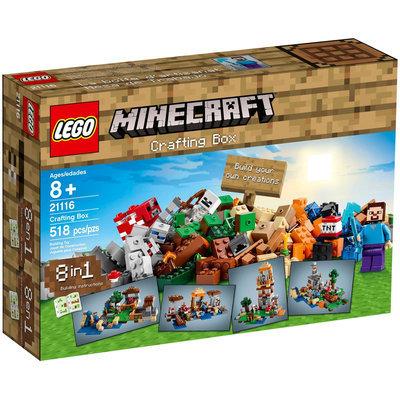 LEGO Minecraft Minecraft Crafting Box - 21116 - 1 ct.