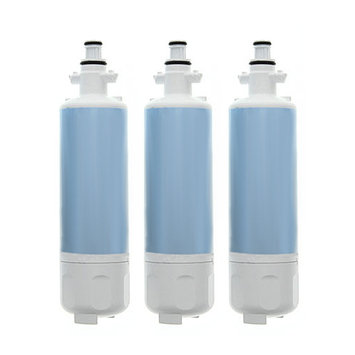 Aqua Fresh Replacement Water Filter Cartridge for LG LFX28979SW02 / LFX28979SW05 / LFX28991ST / LFX28995ST Refrigerator Models (3 Pack) AquaFresh