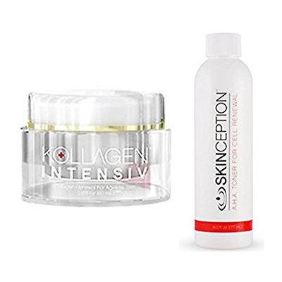 Skinception Kollagen 2oz and AHA Toner Combo Deal