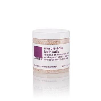 LATHER muscle ease bath salts (9 oz / 255 g)