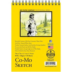 Bee Paper Co-Mo Sketch Pads