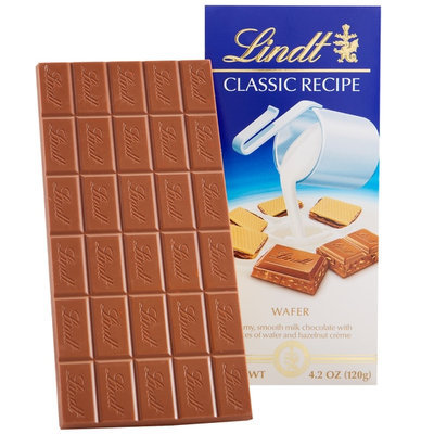 Lindt Classic Recipe Wafer Bar, 12ct