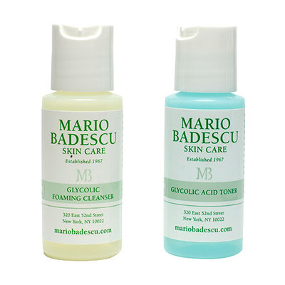 Mario Badescu Premier Glycolic Foaming Cleanser & Glycolic Acid Toner Duo 2x30ml