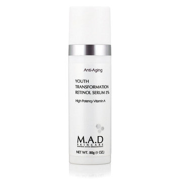 Mad Skincare M.A.D SKINCARE YOUTH TRANSFORMATION RETINOL SERUM 2% (30 g / 1.0 oz)