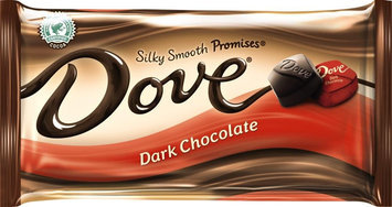 Dove Chocolate Miniatures, Dark Chocolate - 8.87 oz