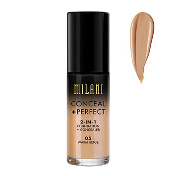 Milani Conceal And Perfect 2 In 1 Foundation And Concealer - Warm Beige