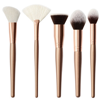 Morphe All About Face 5 Piece Rose Gold Brush Set
