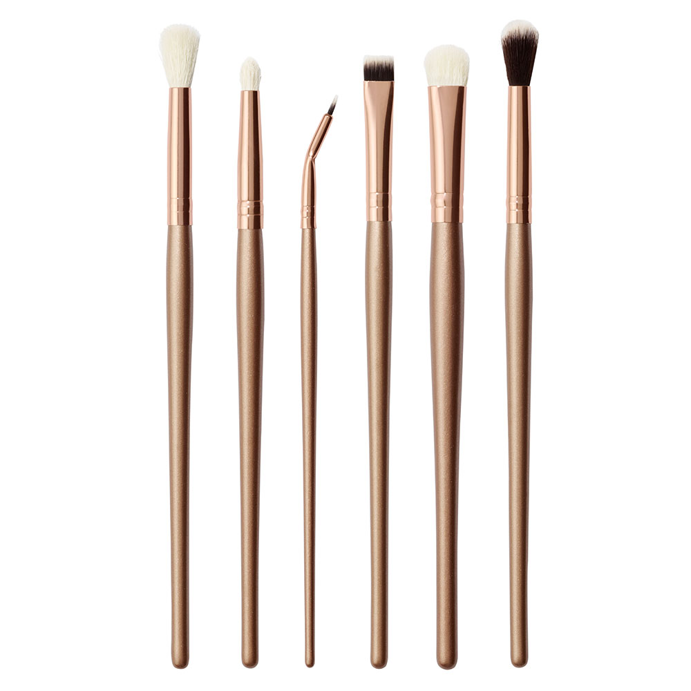 Morphe All About Eyes 6 Piece Rose Gold Brush Set