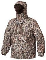 Drake Waterfowl Systems EST Heat-Escape Waterproof Full-Zip 2.0 Hooded Jacket for Men - Mossy Oak Shadow Grass Blades - M