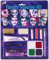 WMU Family Makeup Kit with 4 Color Makeup Tray