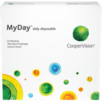 Cooper Vision MyDay daily disposable 180 pack Contact Lenses