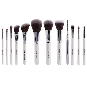 Nanshy Masterful 12 Piece Brush Collection - Pearlescent White