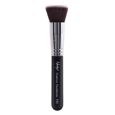Nanshy F02 Flawless Foundation Flat Top Brush Onyx Black
