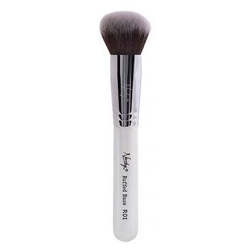 Nanshy R01 Buffed Base Round Brush Pearlescent White