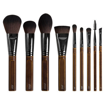 Nanshy The Bare Necessities 9 Piece Brush Collection