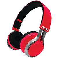 Naxa Electronics, Inc NAXA NE-963 RED METRO GO Foldable Bluetooth(R) Headphones (Red)