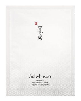 Snowise EX Brightening Mask, 10 Sheets - Sulwhasoo