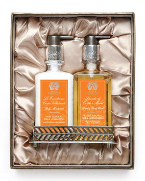 Orange Blossom Hand Wash & Moisturizer Gift Set with Tray - Antica Farmacista