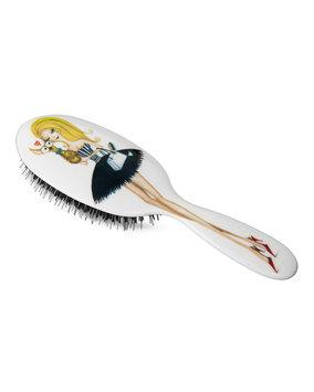 Rock & Ruddle Large Evening Daisy Mixed Bristle Hairbrush
