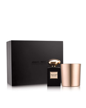 Gab Armani Privé Rose D'Arabie Candle Set