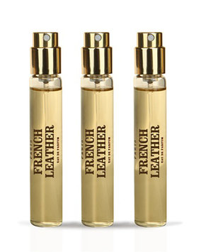 Memo Paris French Leather Travel Spray Refill, 3 x 10 mL