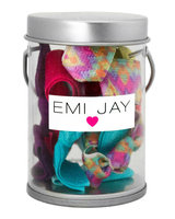 Emi-jay Austique Hair Ties in Paint Tin