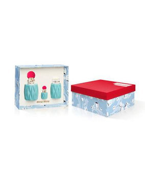Miu Miu Eau De Parfum Set (Limited Edition) ($165 Value)