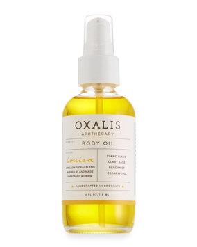 Oxalis Apothecary Louisa Body Oil, 4.0 oz.